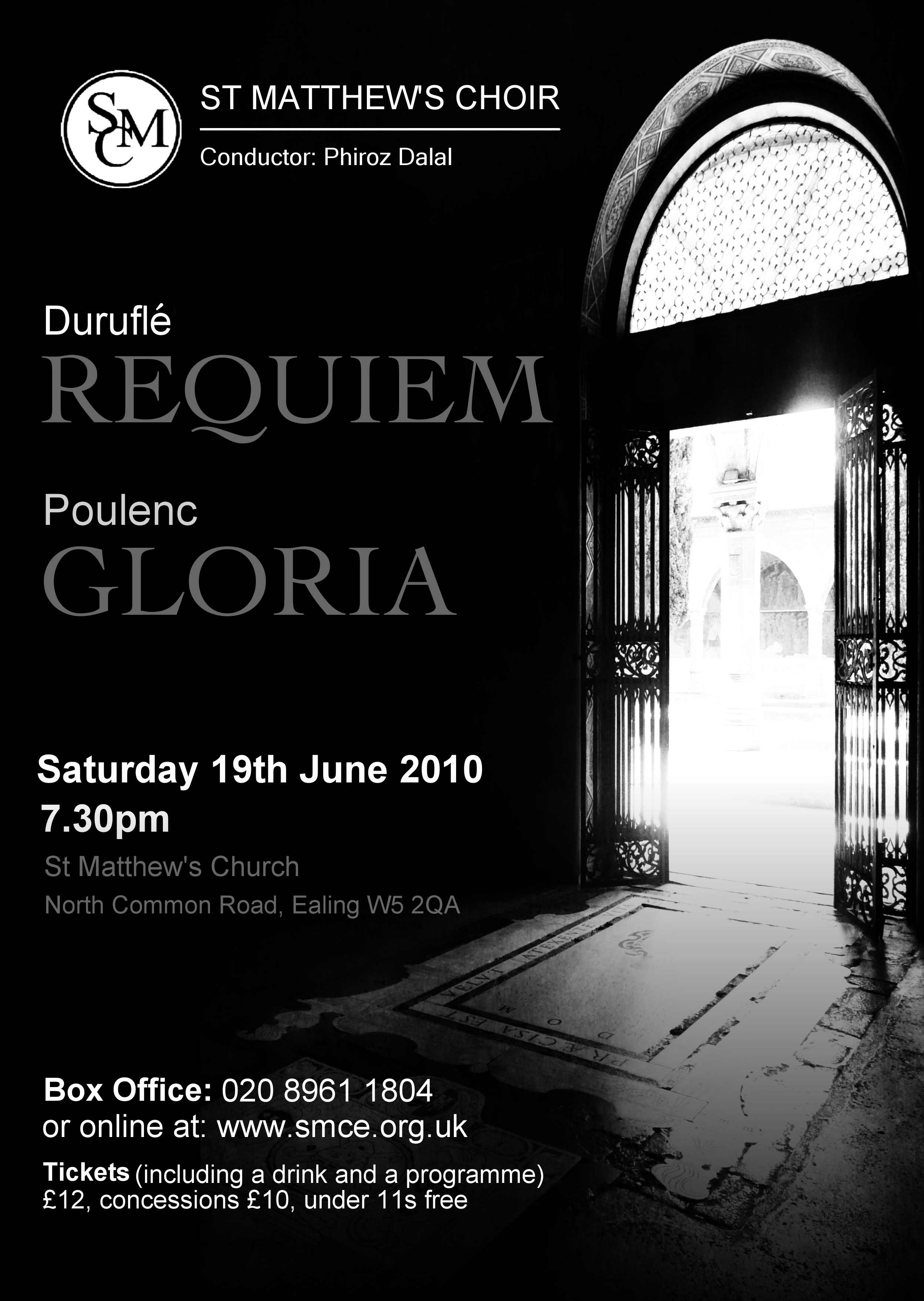 Durufle Requiem & Poulenc Gloria