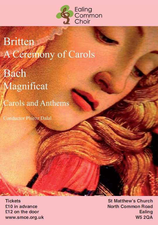 Britten Ceremony Of Carols, Bach Magnificat, Carols